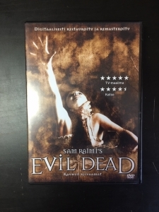 Evil Dead (1981) (special edition) DVD (M-/M-) -kauhu-