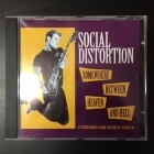 Social Distortion - Somewhere Between Heaven And Hell CD (VG+/M-) -punk rock-