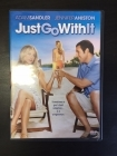 Just Go With It DVD (VG+/M-) -komedia-