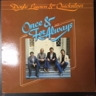 Doyle Lawson & Quicksilver - Once & For Always LP (VG+-M-/VG+) -bluegrass/gospel-