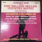 Johnny Doe - Sings The Million Seller Country Sound Made Famous By Johnny Cash LP (VG+/VG+) -country-
