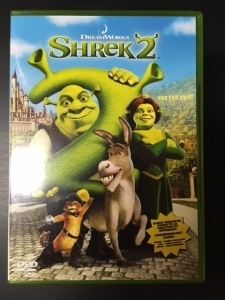 Shrek 2 DVD (VG+/M-) -animaatio-