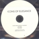 Icons Of Elegance - I Can't Dance Without Your Beat CDS (VG+/-) -indie pop/alt country-