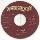 Icons Of Elegance - It's Gold PROMO CDS (VG+/-) -indie pop/alt country-