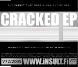 Insult That Made A Man Out Of Mac - Cracked EP CDEP (VG+/VG+) -industrial rock-
