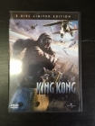 King Kong (2005) (limited edition) 2DVD (M-/M-) -seikkailu-