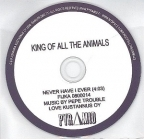 King Of All The Animals - Never Have I Ever PROMO CDS (VG+/-) -indie rock-