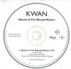 Kwan - Sharks In The Bloody Waters PROMO CDS (VG+/-) -hip hop/pop-