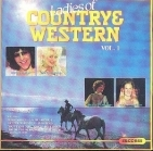 Ladies Of Country & Western Vol. 1 CD (VG+/VG+)