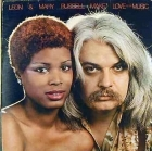 Leon & Mary Russell - Make Love To The Music LP (VG+/VG+) -soul-