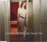 Leann Rimes - Life Goes On PROMO CDS (VG+/M-)  -country-