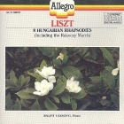Liszt - 8 Hungarian Rhapsodies CD (M-/VG+) -klassinen-