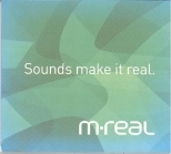 M-Real - Sounds Make It Real PROMO CD (M-/VG)