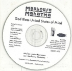 Madhouse Mahatma - God Bless United States Of Mind PROMO CDS (VG+/-) -proge rock-