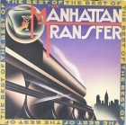 Manhattan Transfer - The Best Of LP (VG+/VG+) -jazz fusion-