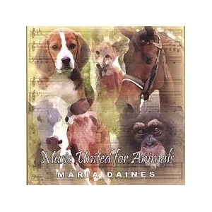 Maria Daines - Music United For Animals CD (VG+/M-) -hard rock-