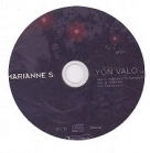 Marianne S. - Yön valo CDS (VG/-) -pop rock-