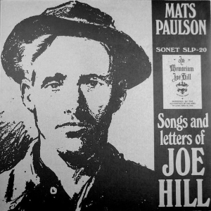 Mats Paulson - Songs And Letters Of Joe Hill LP (VG/M-) -folk-