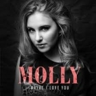 Molly - Maybe I Love You PROMO CDS (VG+/VG+) -pop-