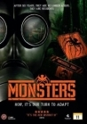 Monsters DVD (VG+/M-) -draama/sci-fi-