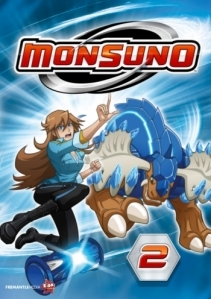 Monsuno 2 DVD (M-/M-) -anime-