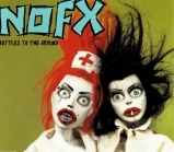 NOFX - Bottles To The Ground CDEP (VG+/M-) -punk rock-