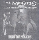 Nerds - Italian Destructo Rock Inferno CDEP (VG+/M-) -punk rock-