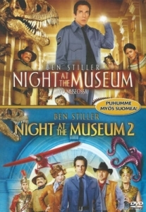 Night At The Museum / Night At The Museum 2 2DVD (M-/M-) -komedia-