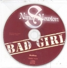 Nina S Newton - Bad Girl PROMO CDS (VG/-) -pop-