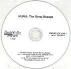 Nuria - The Great Escape PROMO CDS (VG/-) -art pop-