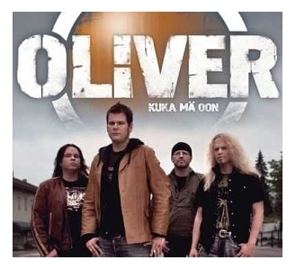 Oliver - Kuka mä oon CDS (VG+/M-) -pop rock-
