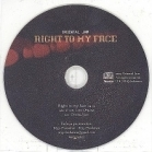 Oriental Jam - Right To My Face PROMO CDS (VG/-) -alt rock-