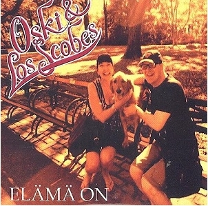 Oski & Los Scobes - Elämä on CDS (VG+/M-) -country-