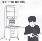 Quit Your Dayjob - Quit Your Dayjob CDEP (VG+/M-) -dance-punk-