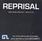 Reprisal - Mail Order Knife Set ALBUM SAMPLER CD (VG+/VG+) -hardcore-