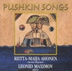 Riitta-Maija Ahonen & Leonid Maximov - Pushkin Songs CD (M-/VG+) -klassinen/ooppera-