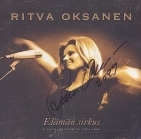 Ritva Oksanen - Elämän sirkus CD (VG/VG+) -pop- (signed by artist)