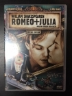 Romeo + Julia (special edition) DVD (VG+/M-) -draama-