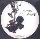 Ronin - As I Wave CDS (VG+/-) -pop rock-