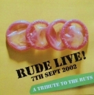 Rude Boys - Rude Live! A Tribute To The Ruts CD (VG+/M-) -punk rock-
