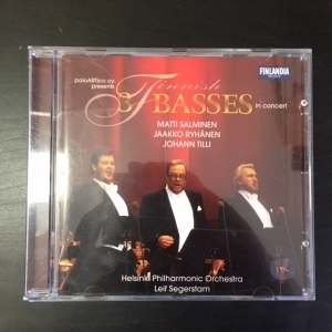Salminen, Ryhänen & Tilli - 3 Finnish Basses In Concert CD (M-/M-) -klassinen-