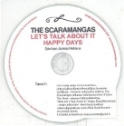 Scaramangas - Let's Talk About It PROMO CDS (VG+/-) -indie rock-