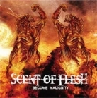 Scent Of Flesh - Become Malignity CDEP (VG+/VG+) -death metal-