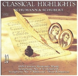 Schumann / Schubert - Classical Highlights CD (VG+/M-) -klassinen-