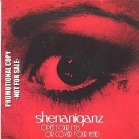 Shenaniganz - Open Your Eyes Or Cover Your Head PROMO CD (VG/VG) -hard rock-