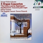 Simon Preston - Handel: 5 Organ Concertos CD (VG+/M-) -klassinen-