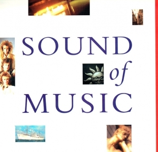 Sound Of Music - Sound Of Music LP (M-/VG+) -synthpop-