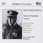 Sousa - Music For Wind Band Volume 1 CD (M-/M-) -klassinen-