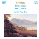 Spohr - Piano Trios Nos. 2 And 4 CD (M-/VG+) -klassinen-