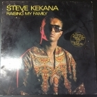 Steve Kekana - Raising My Family LP (VG+/VG) -reggae pop-